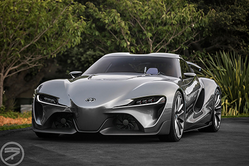 Concept Toyota FT-1 Wallpaper